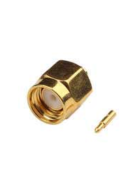 SMA MALE STRAIGHT SEMI RIGID RF Connector