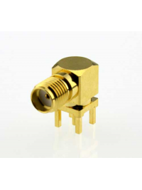 SA6721 SMA Female PCB Mount Right Angle RF Connector