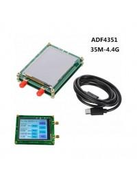 35M-4.4G RF Signal Generator ADF4351 Touch Screen