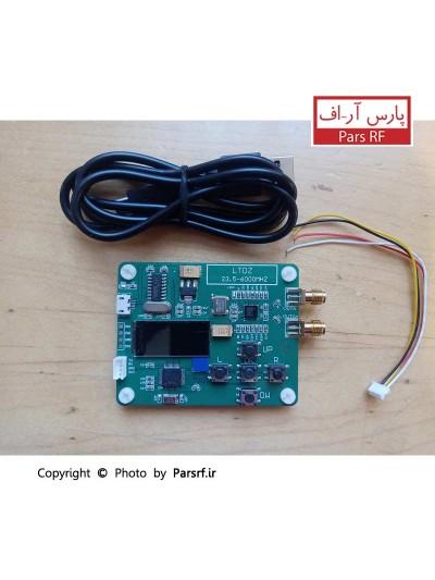 "MAX2870 23.5-6000MHz RF Signal Source Signal Generator Module 0.96"" Serial Port"